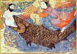 Jonah (Hebrew: יוֹנָה, Modern Yona Tiberian Yônā; dove; Arabic: يونس, Yūnus or يونان, Yūnān; Greek/Latin: Ionas) is the name given in the Hebrew Bible (Tanakh/Old Testament) to a prophet of the northern kingdom of Israel in about the 8th century BC, the eponymous central character in the Book of Jonah, famous for being swallowed by a fish or a whale, depending on translation.<br/><br/>  The Biblical story of Jonah is repeated in the Qur'an, where Jonah is identified as Yunus or Yunan.
