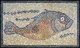 Mosaic of Fish Facing Right, by an unknown Roman Artist found in Tunis. The fish is a fertility symbol and was also used by both Christians and Jews to refer to the faithful.